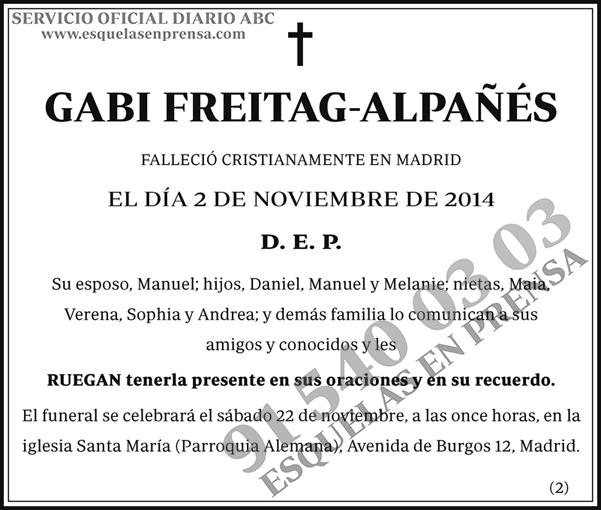 Gabi Freitag-Alpañés